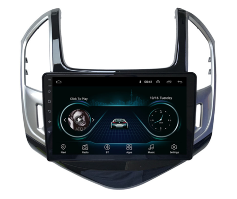 "Stereo Multimedia 9"" para Chevrolet Cruze 2 2013 al 2015 con GPS - WiFi - Mirror Link para Android/Iphone"
