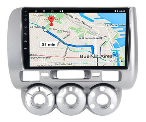 "Stereo Multimedia 9"" para Honda Fit 2003 al 2007 con GPS - WiFi - Mirror Link para Android/Iphone"