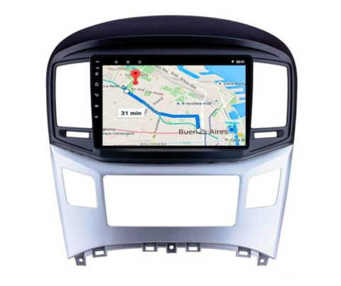 "Stereo Multimedia 9"" Hyundai H1 2017 al 2019 con GPS - WiFi - Mirror Link para Android/Iphone"