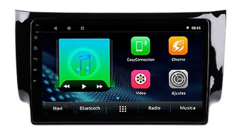 "Stereo Multimedia 10"" para Sentra 2014 al 2019 con GPS - WiFi - Mirror Link para Android/Iphone"