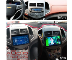 "Stereo Multimedia 9"" para Chevrolet Sonic con GPS - WiFi - Mirror Link para Android/Iphone en internet"