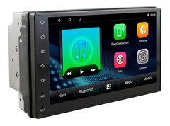 "Stereo Multimedia 7"" T3 Doble Din con Mirror Link para Android y iPhone - USB y Bluetooth - comprar online"
