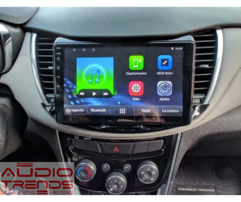"Stereo Multimedia 9"" para Chevrolet Tracker 2017 al 2019 con GPS - WiFi - Mirror Link para Android/Iphone"