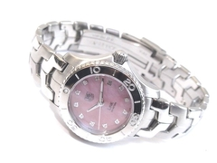 Reloj Mujer Tag Heuer Link Pink Mother Of Pearl WJ131C.BA0573 Special Line Agente Oficial Argentina - comprar online