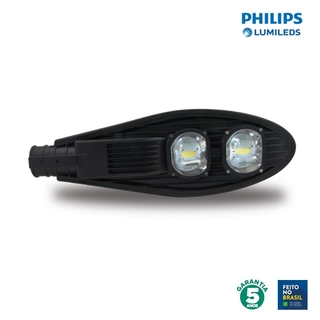 Luminária LED Pública 12v 100w 6500k Chip Philips 90728