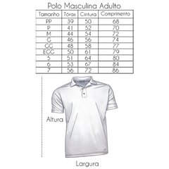 Imagem do CAMISA ADULTO POLO FRISO