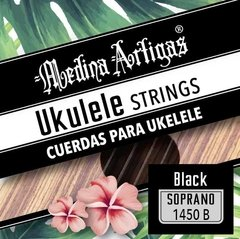 1450B ENCORDADO UKELELE MEDINA ARTIGAS BLACK