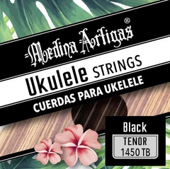 1450B ENCORDADO UKELELE MEDINA ARTIGAS BLACK en internet