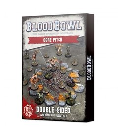 Blood Bowl: Ogre Pitch and Dugout Set (Inglés)