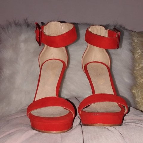 NoSandalias Benetton red