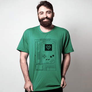 camiseta verde games love game