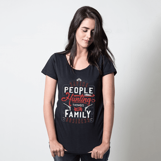 CAMISETA PRETA - THE FAMILY BUSINESS