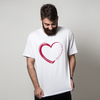 CAMISETA BRANCA - DON'T BREAK MY HEART