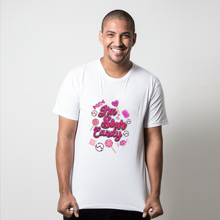 CAMISETA BRANCA - SOUR CANDY