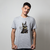 CAMISETA CINZA - PUG THE GREY