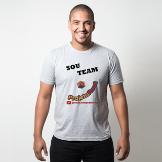 CAMISETA CINZA - TEAM ROOT