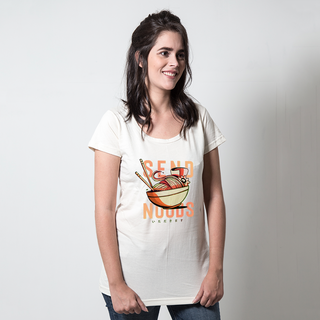 CAMISETA PALHA - SEND NOODLES