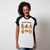 CAMISETA RAGLAN BRANCA - FEELINGS