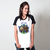 CAMISETA RAGLAN BRANCA - JUST CHILL