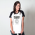 CAMISETA RAGLAN BRANCA - MY ACCENT IS MY IDENTITY