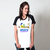 CAMISETA RAGLAN BRANCA - WHY NOT SHARE