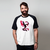 CAMISETA RAGLAN BRANCA - TEAM DARK VALOR