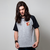 CAMISETA RAGLAN CINZA - TICKET