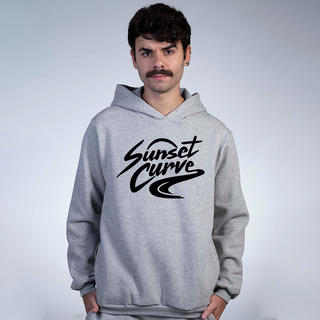 MOLETOM CINZA - SUNSET CURVE MERCH