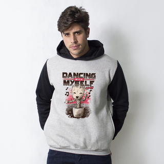 MOLETOM RAGLAN - DANCING WITH MYSELF