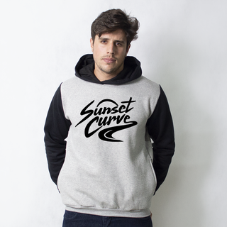 MOLETOM RAGLAN - SUNSET CURVE MERCH