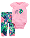 Carter's Set 2 piezas body + pantalon - Pez