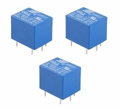 Pack 3 Reles 12v Simple Inversor 10a 220v Nubbeo