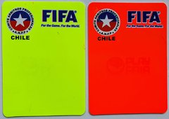 Tarjetas Arbitros Logos Color - Referee Store
