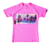 Remera MC Estampada Rosa Chicle