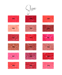 Labial líquido Kisses Glitter Shine Hb8223-367 - Ruby Rose - Ruby Rose Argentina