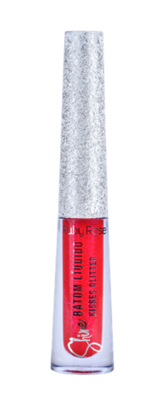 Labial líquido Kisses Glitter Shine Hb8223-353 - Ruby Rose - comprar online