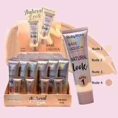 Display Base Natural Look nude (48 u. - 4 tonos c/probadores)
