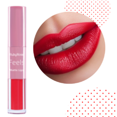 HB8608-316 Labiales feels mate lips duo TONO 316 - RUBY ROSE