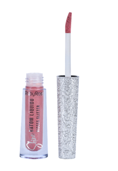 Labial líquido Kisses Glitter Shine Hb8223-368 - Ruby Rose - comprar online