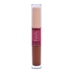Corrector Líquido Dúo Sculpt Feels Hb8101-2 Cookie 60 e Chocolate Amargo 40 - Ruby Rose