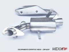 Mexx Sports Exhaust Original Model CBR650F Cod.H21M11 - Mexx Escapamentos Esportivos para Motos e Carros