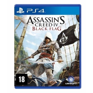 ASSASSINS CREED IV BLACK FLAG PS4