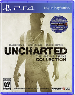 Uncharted The Nathan Drake Collection PS4