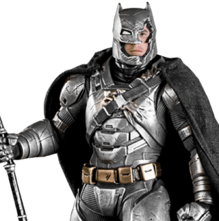 Armored Batman 1/10 Art Scale (Battle Damaged ver.) - BvS - Iron Studios