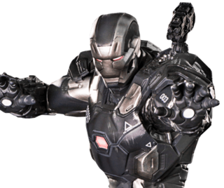 War Machine 1/10 Art Scale - Civil War - Iron Studios