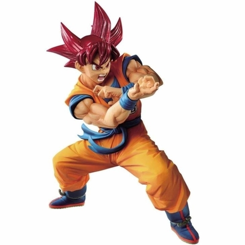 FIGURE DRAGON BALL SUPER BLOOD OF SAIYANS SPECIAL VI SUPER SAIYAN GOD SON GOKU