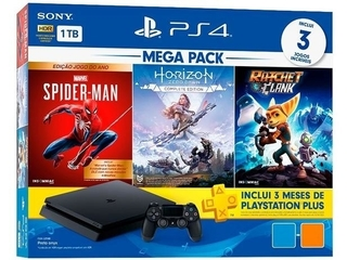 Playstation 4 Slim 1TB - V15 (Spider / Horizon / Ratchet)