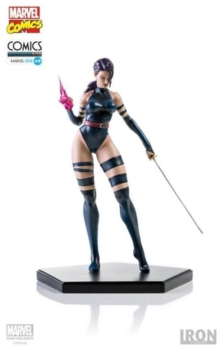 Psylocke 1/10 - Marvel Comics Series 4 - Iron Studios