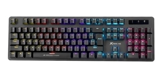 TECLADO MECANICO STRIKE ME RAINBOW (SWITCH AZUL) GK-916
