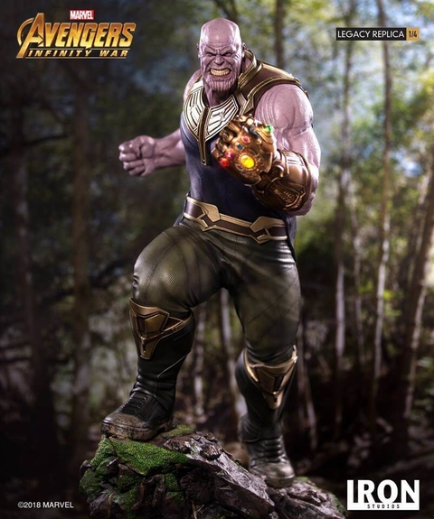 Thanos 1/4 Art Scale - Infinity War - Iron Studios - O.R Games & Colecionáveis
